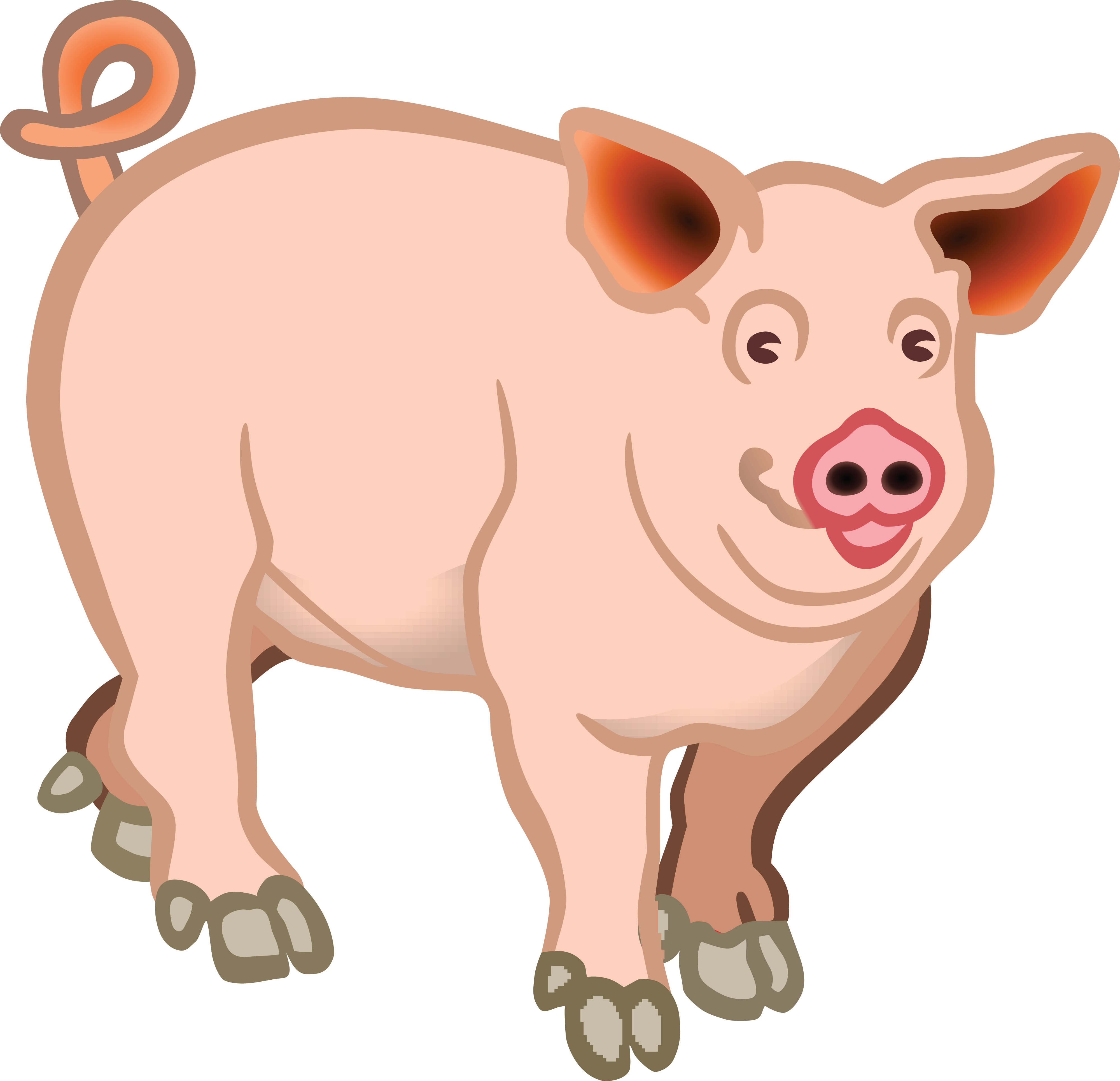 Pigs clipart free 5 » Clipart Station.