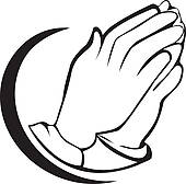 Free clipart praying hands 3 » Clipart Station.