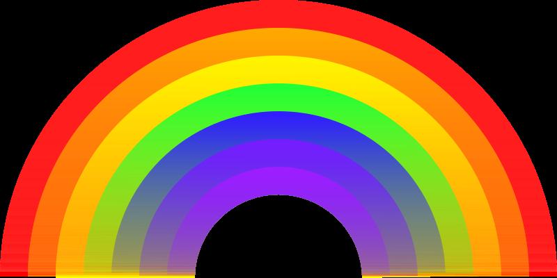 Free Clipart: Rainbow.
