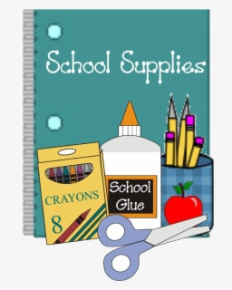 Free School Supplies Clip Art with No Background.