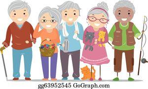 Seniors Clip Art.