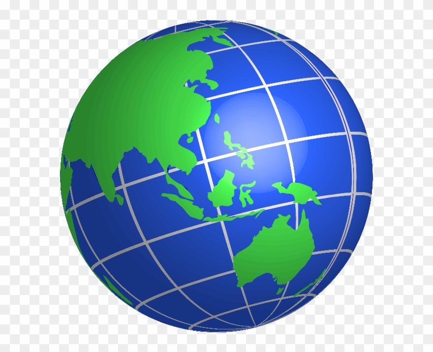 Earth Globe Clip Art Free Clipart Image.