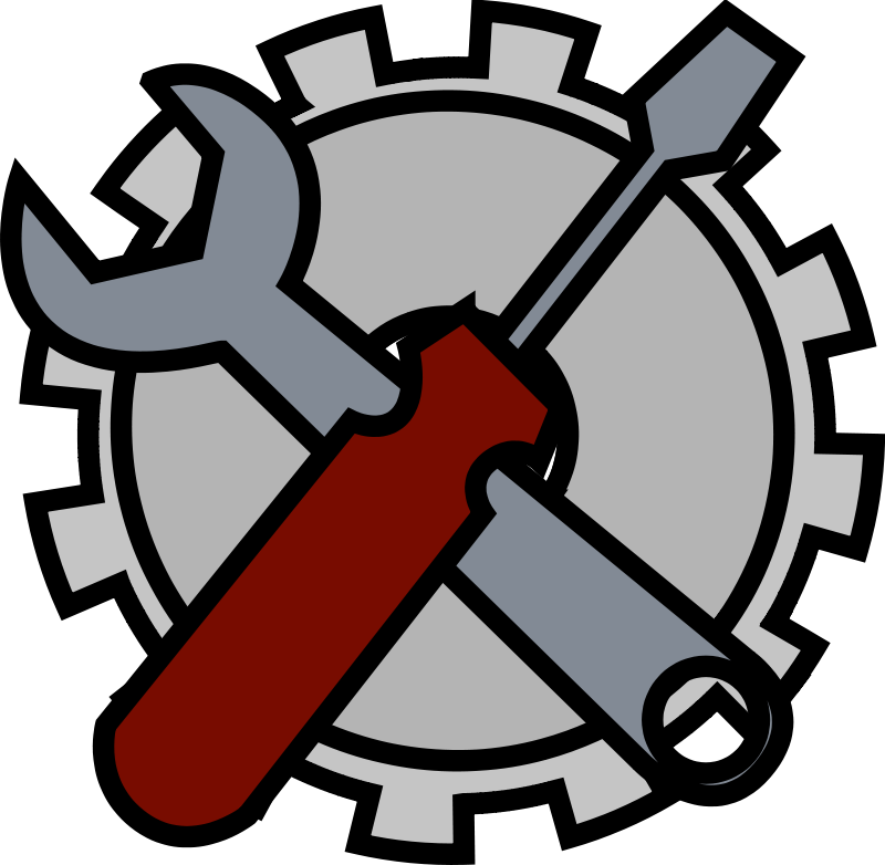 Free Clipart: Admin tools icon.