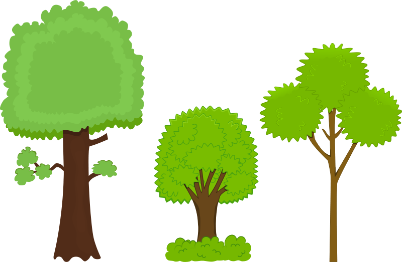 Free Clipart: Trees.