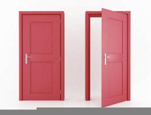 Open Doors Clipart.