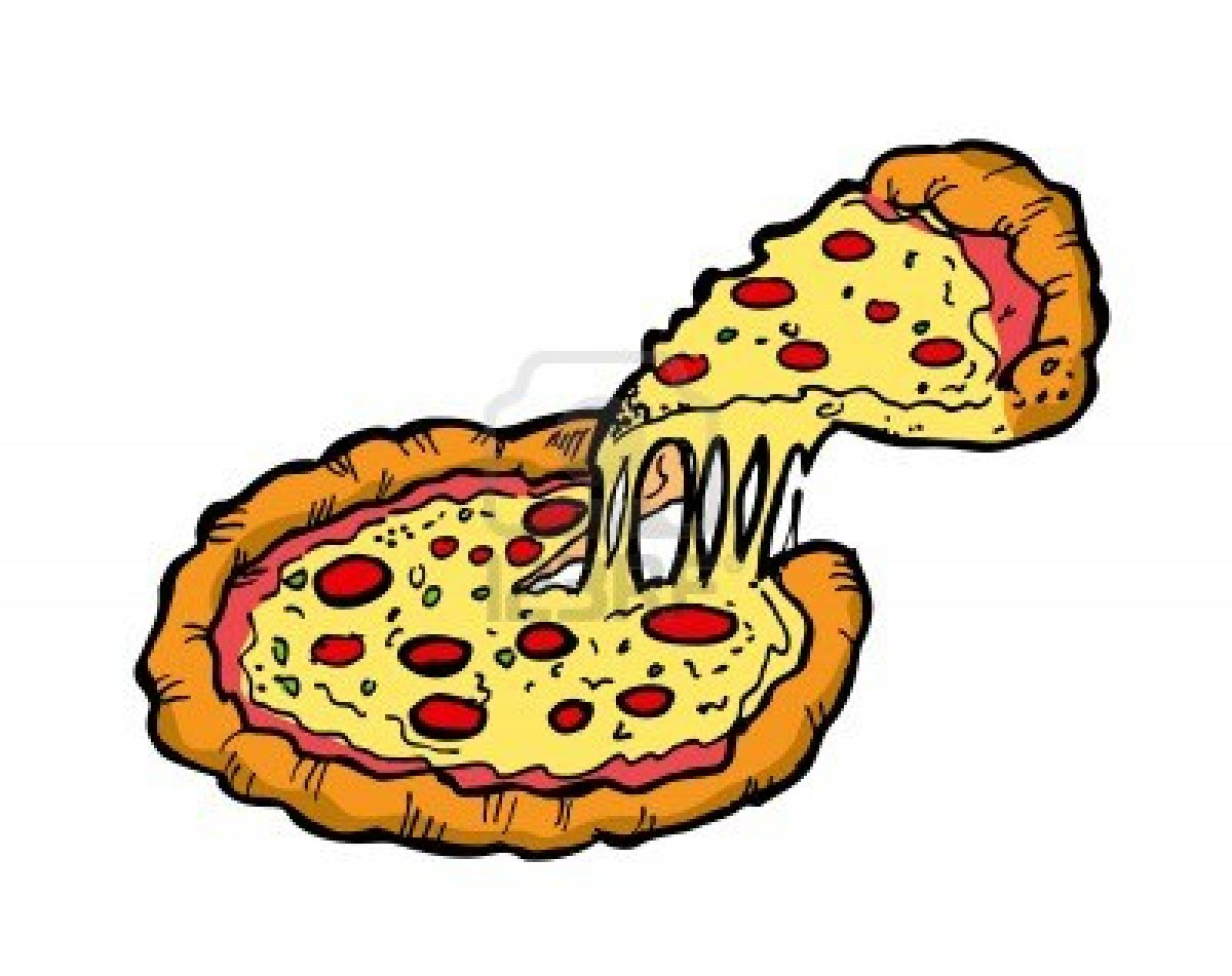 9476 Pizza free clipart.