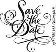 Save The Date Clip Art.