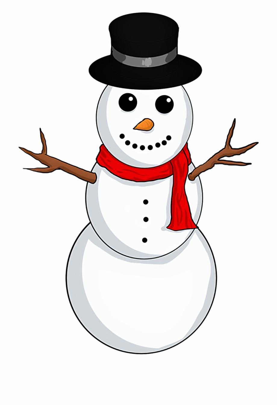 Christmas Clipart Snowman.