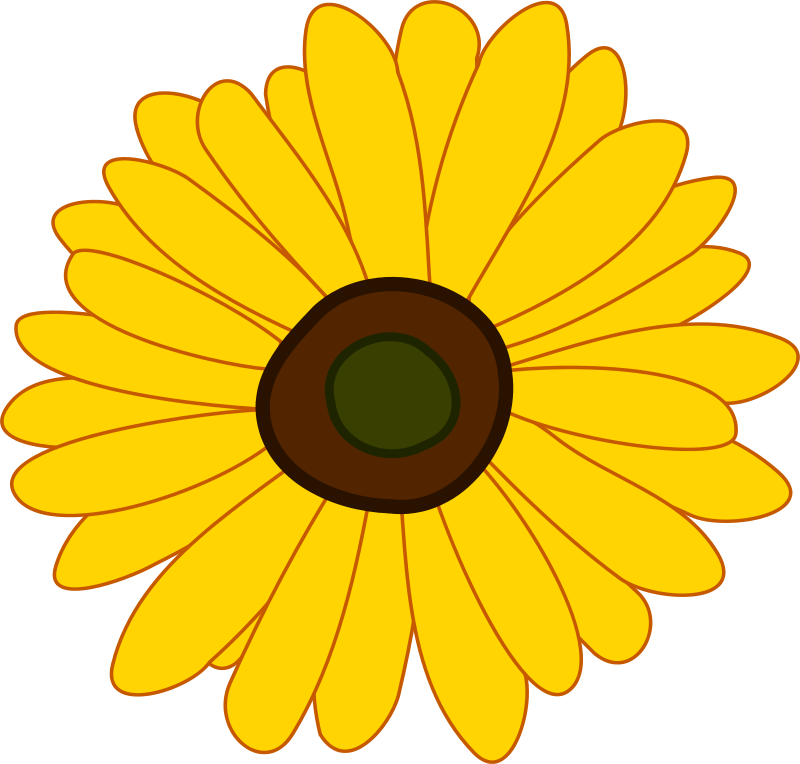 Free Clipart: Sunflower.