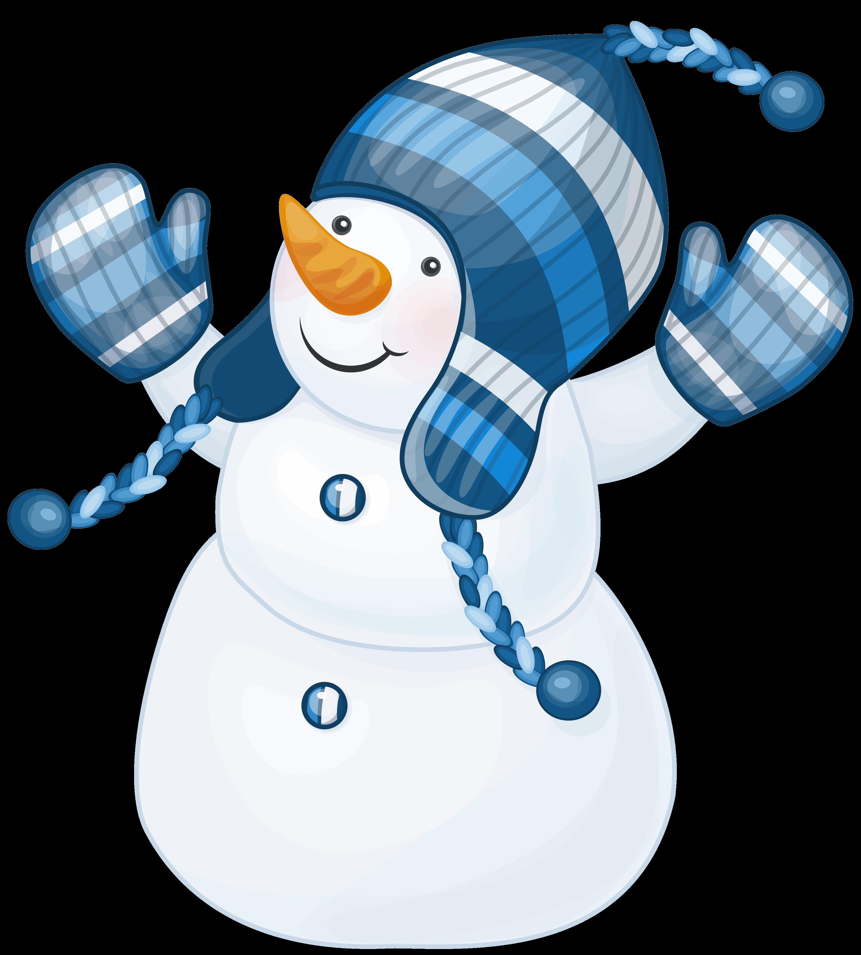 Transparent Background Snowman Clipart Png.