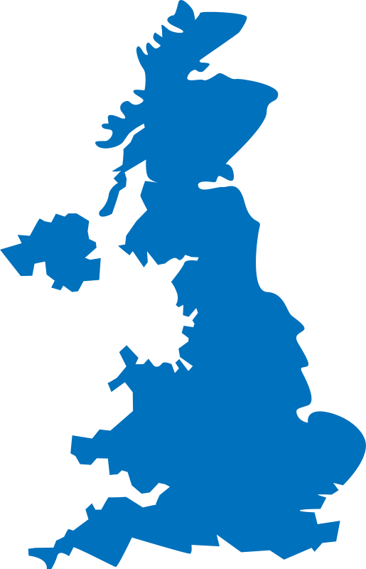 Free Clipart: United Kingdom map.