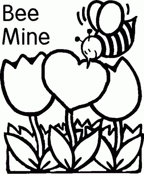 free clipart images valentines day black and while #10