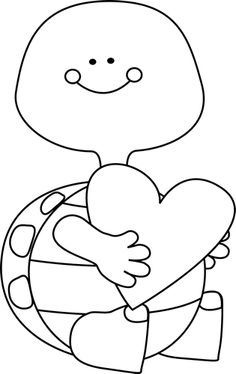 Black And White Valentines Day Clipart.