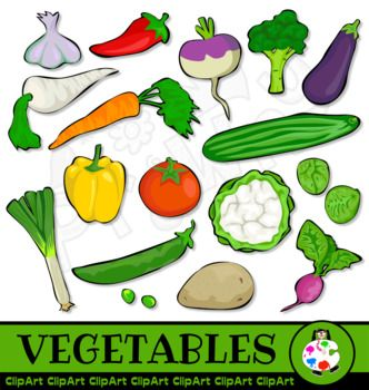 Free ClipArt Vegetables.