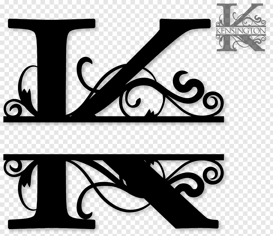Monogram Letter, initials free png.