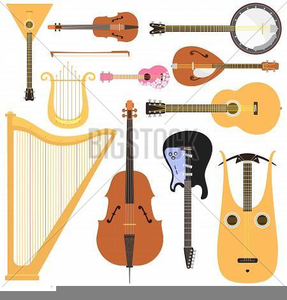 Free Clipart String Instruments.