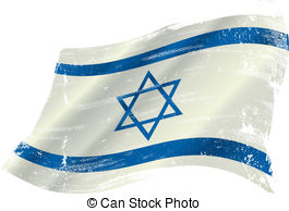 Israeli flag Vector Clipart Illustrations. 714 Israeli flag clip.