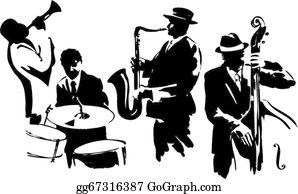 Jazz Clip Art.