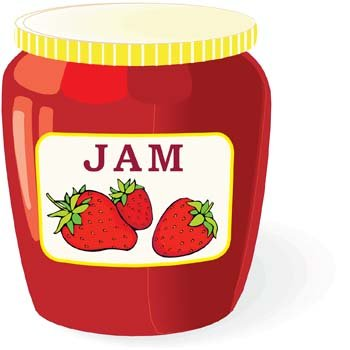 Jam and jelly 3 Clipart Picture Free Download.
