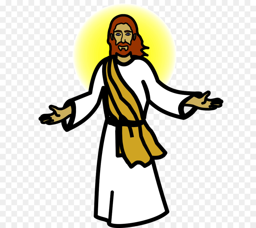Download Free png Symbol Clip art jesus christ in the heaven.