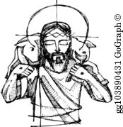 Good Shepherd Clip Art.