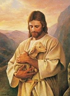 Free Jesus the Good Shepherd Clipart.