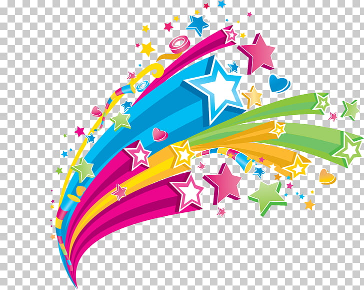 Color Star , Jewish Holidays PNG clipart.