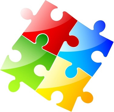Free clip art jigsaw puzzle pieces Jigsaw puzzle clipart.