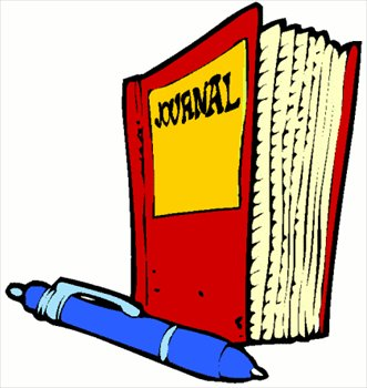 Clipart Of Journal.