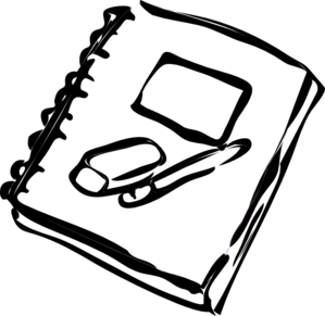 Free clipart journal.