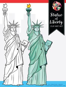 FREE* Statue of Liberty Clip Art.