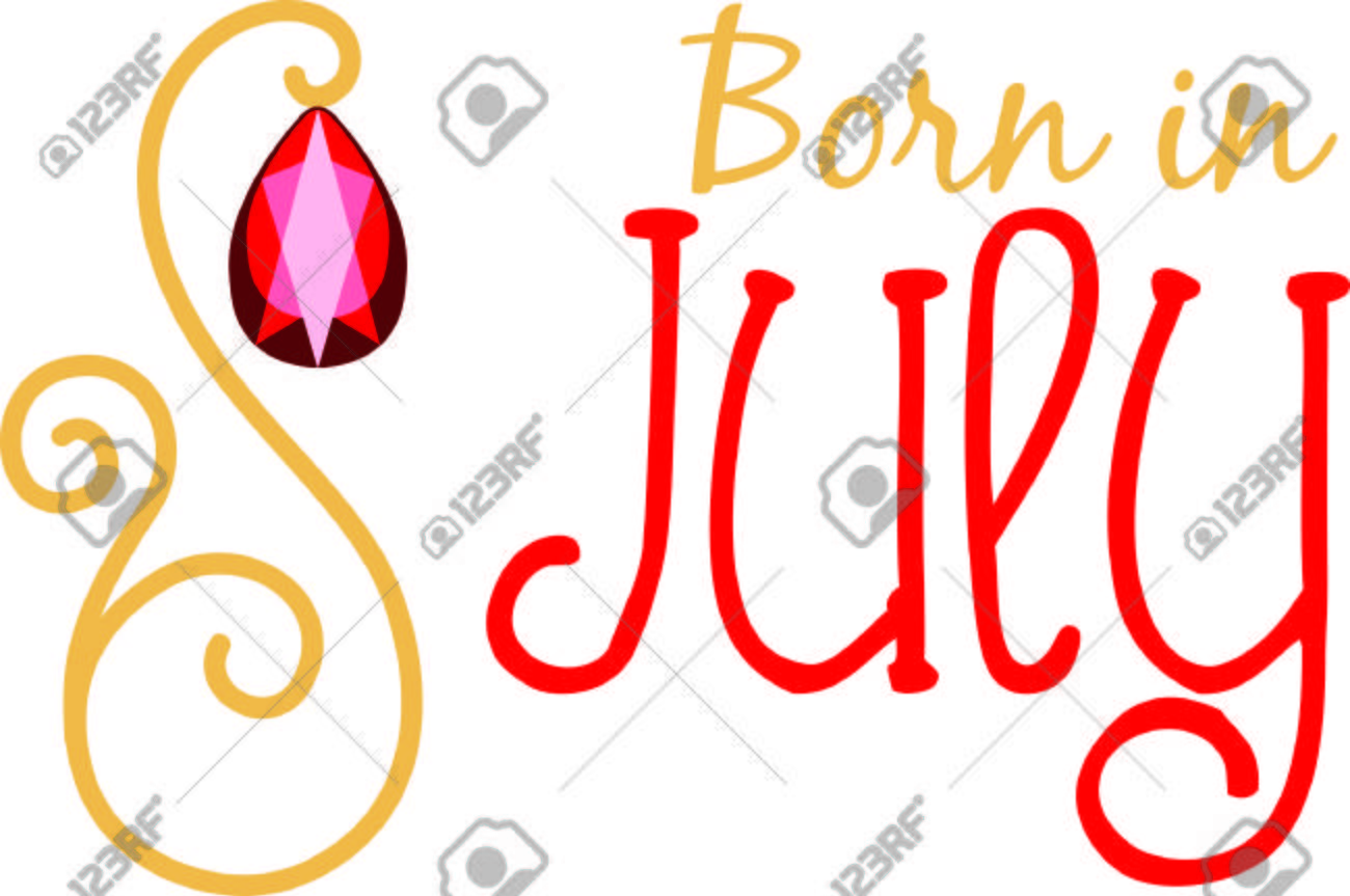Celebrate your July birthday with your birthstone, the ruby..