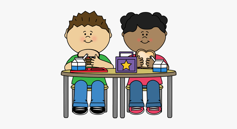 Kids Eating Lunch Clipart , Free Transparent Clipart.