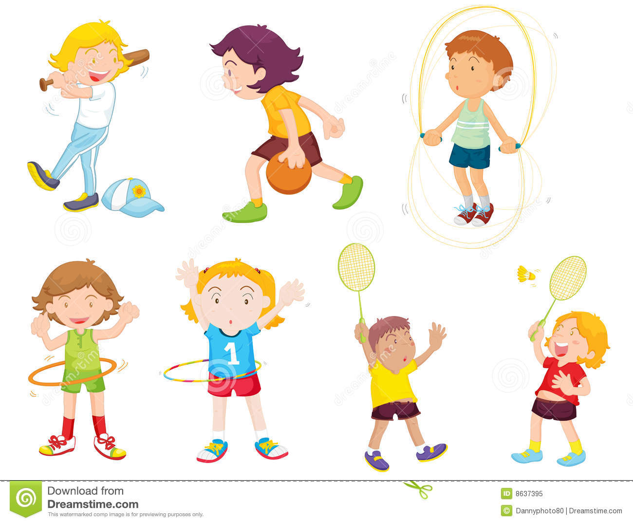 21852 Child free clipart.