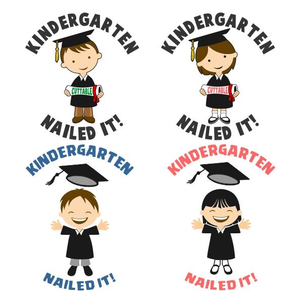 213 Kindergarten Graduation free clipart.