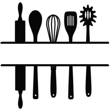 Kitchen Utensils Clipart Free.