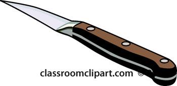Steak Knife Clipart.