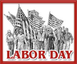 319 Labor Day free clipart.
