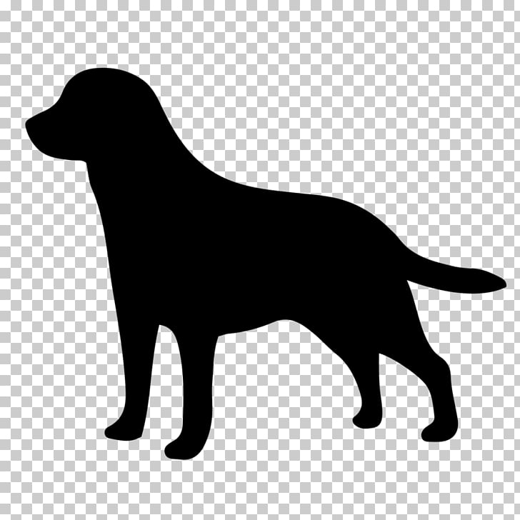 Labrador Retriever Golden Retriever Silhouette , labrador.