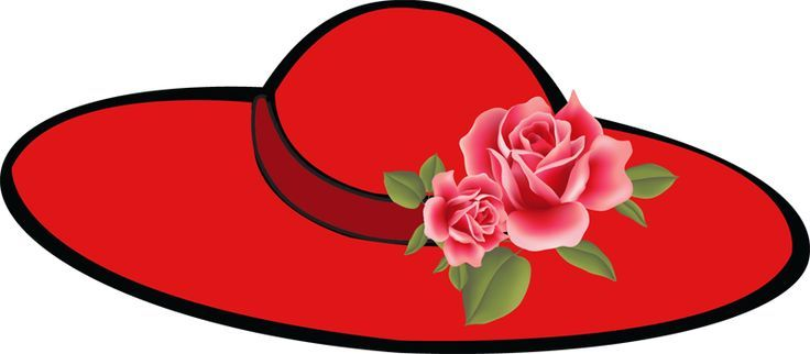 Red Hatters Clip Art.