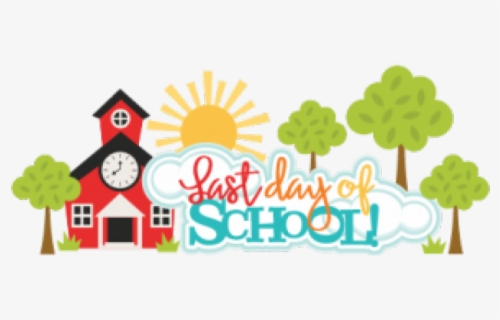 Free Last Day Of School Clip Art with No Background.