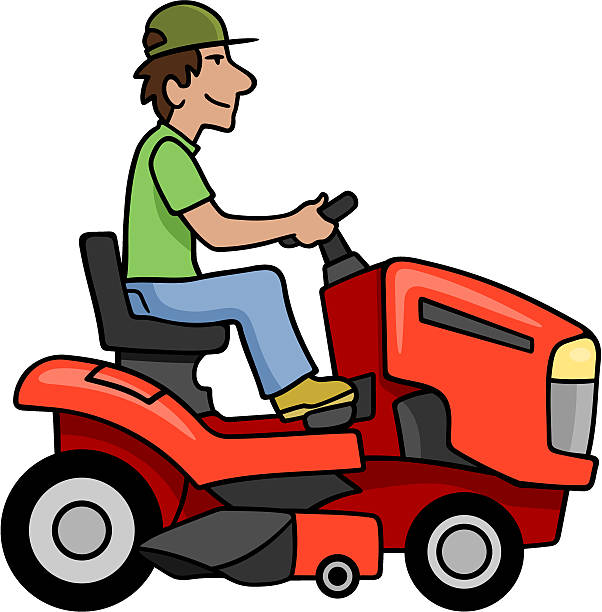 734 Lawn Mower free clipart.