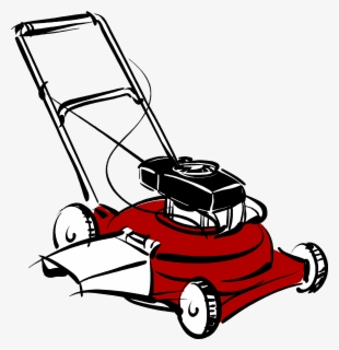 Free Lawn Mower Clip Art with No Background.