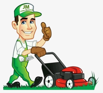 Free Lawn Mowing Clip Art with No Background.