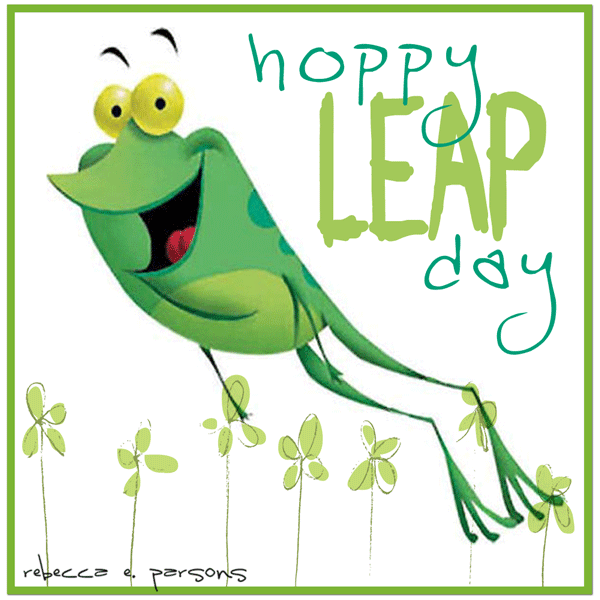 Leap Day 2016 Clipart.