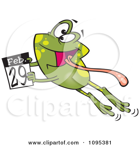 Clipart leap day.
