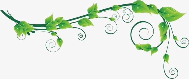 777 Green Leaf free clipart.