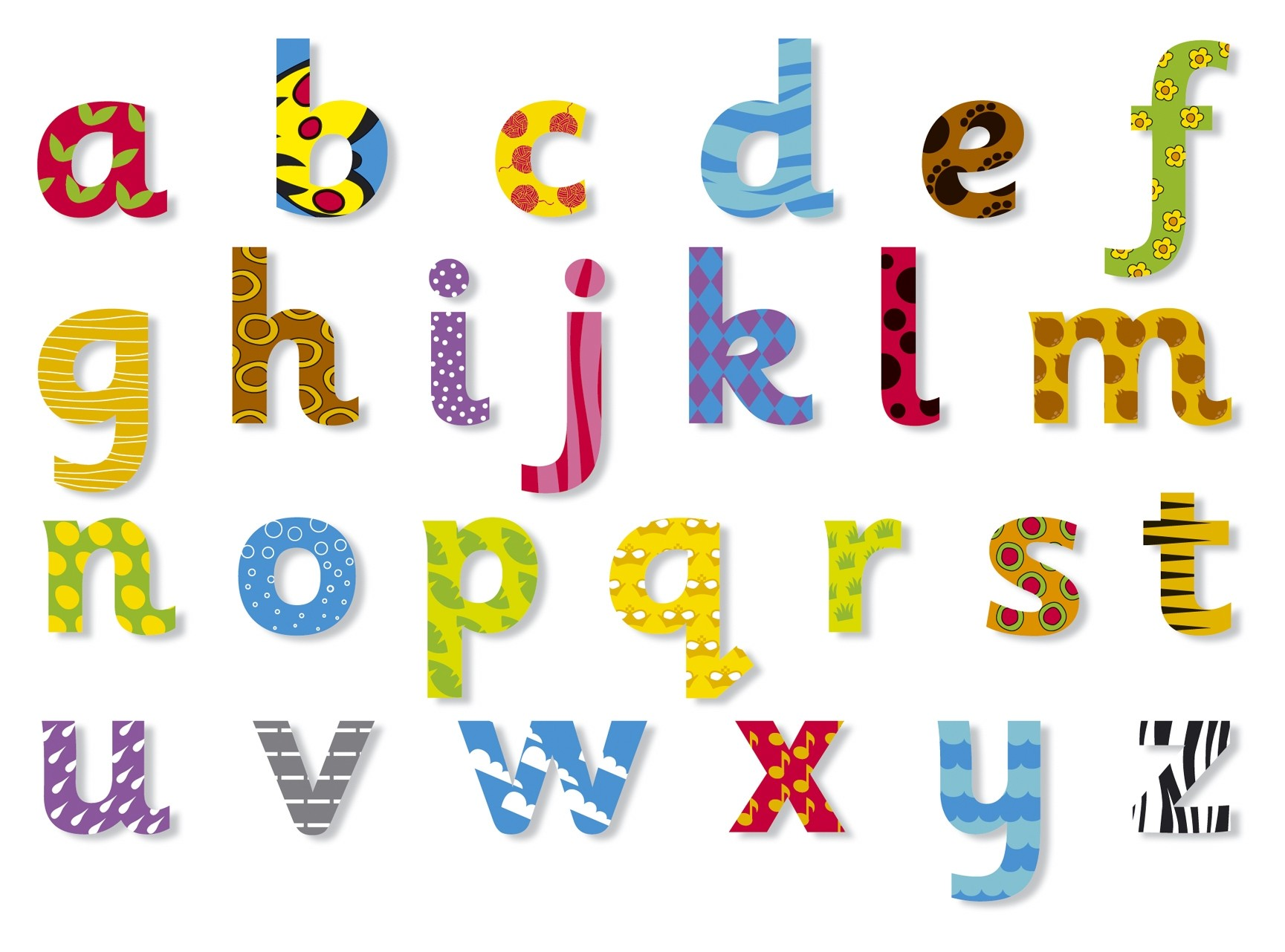 Free Lowercase Alphabet Letter Templates To Print Upper And Lower.