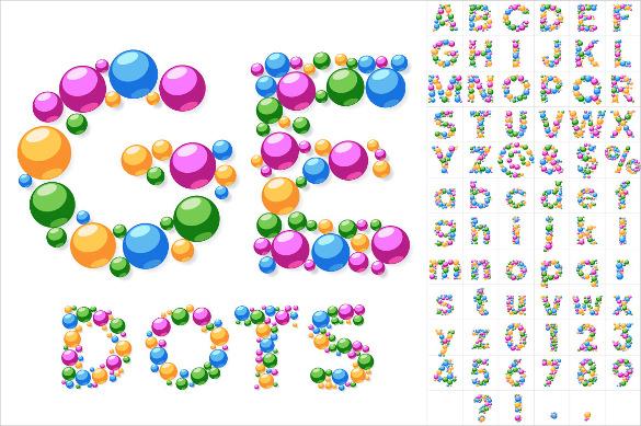 30+ Alphabet Bubble Letters.