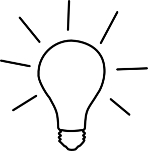 Idea Light Bulb Clip Art at Clker.com.